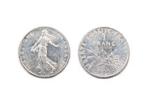 One French Franc 1999 Royalty Free Stock Images