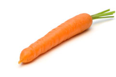 One fresh carrot Stock Photos