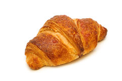 One Fresh Croissant Stock Photography