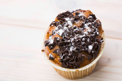 One fresh delicious muffin Royalty Free Stock Photography