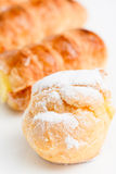 Italian cream pastry Stock Photography