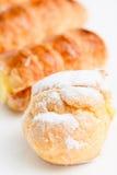 Italian cream pastry Stock Photography