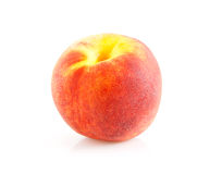 One fresh peach Stock Images