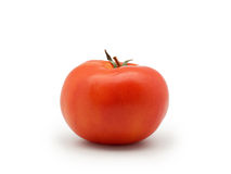 One fresh red tomato isolated on white background Royalty Free Stock Photography