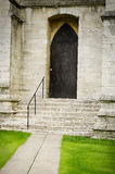 One gate of York Minster in UK Stock Photo