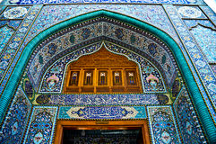 One of the gates of Al-Kadhimiya Mosque Royalty Free Stock Image