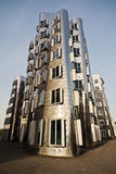 One of the Gehry houses in Düsseldorf Royalty Free Stock Photo
