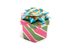 One gift box Royalty Free Stock Images