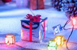 One gift Stock Images