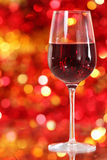 One Glass Of The Red Wine Royalty Free Stock Image