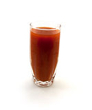 One glass of tomato juice Stock Images