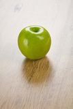 One green apple Stock Photos