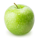 One green apple isolated on a white background Royalty Free Stock Image