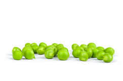 One green pea pod Stock Images