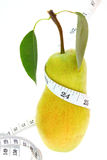 One green pear Royalty Free Stock Images