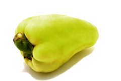 One green pepper Royalty Free Stock Images