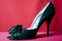 One Green Shoe Royalty Free Stock Photo