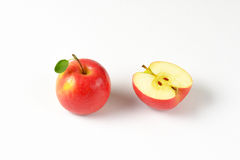 One and half apples Royalty Free Stock Photography