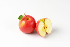 One and half apples Royalty Free Stock Image
