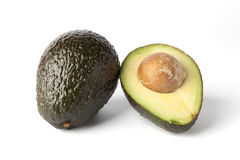 One and a half avocado Stock Image
