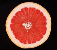 One half of grapefruit Stock Photos