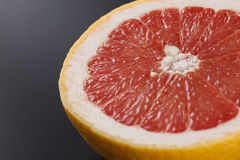 One half of grapefruit Stock Photo