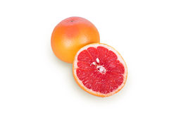 One half of a grapefruit Stock Photos