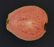 One half of Guava fruit Royalty Free Stock Images