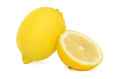 One and a half lemon () Stock Images