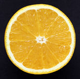 One half of orange Royalty Free Stock Images