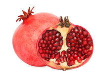 One and a half pomegranate () Royalty Free Stock Images