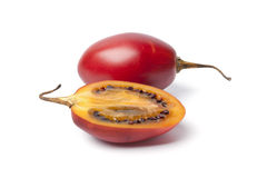 One and a half Tamarillo Stock Image