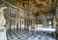 One of the halls of the Capitoline Museum in Rome Royalty Free Stock Images