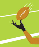 One Handed Catch Stock Image