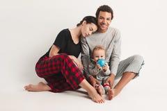 One happy family Stock Photography