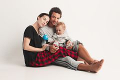 One happy family Royalty Free Stock Images