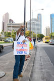 We Are One Hawaii Solidarity Rally -11 Stock Images