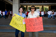 We Are One Hawaii Solidarity Rally -8. Union and public workers and non-profit agencies gathered in solidarity at a rally at the Hawaii State Capitol in downtown Stock Photo