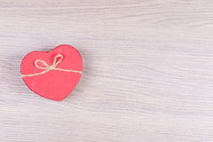 One heart. Stock Image