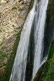 One of the highest waterfalls in Italy stock photo