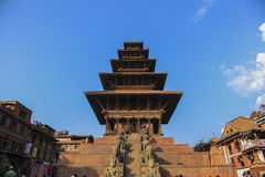 One of the historical building in Bakhtapur Nepal Stock Photo