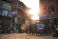 One of the historical place Bakhtapur Nepal Royalty Free Stock Image