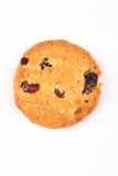 One Homemade oatmeal cookie Stock Photography