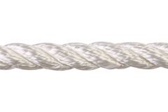 One horizontal rope. Stock Images