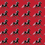 One horse pattern Stock Image