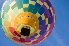 One Hot Air Balloon Stock Image