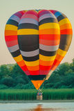 One Hot Air Balloon reunion Stock Images