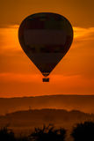 One Hot Air Balloon reunion Royalty Free Stock Image