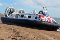 Hovercraft, Island flyer, Southsea, Gosport to Ryde. Stock Image