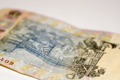 One hryvnia, Ukranian currency macro photography Royalty Free Stock Images